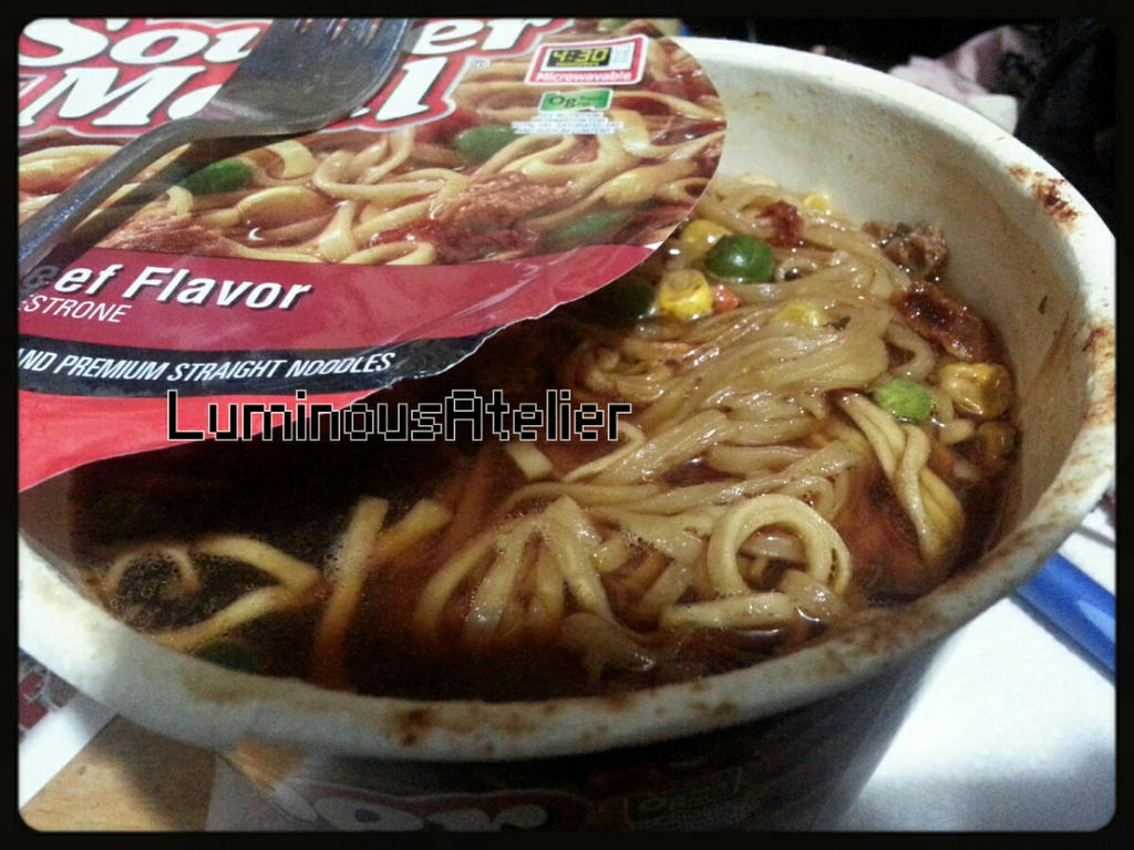 Photo - Souper Meal Beef Flavor by LuminousAtelier