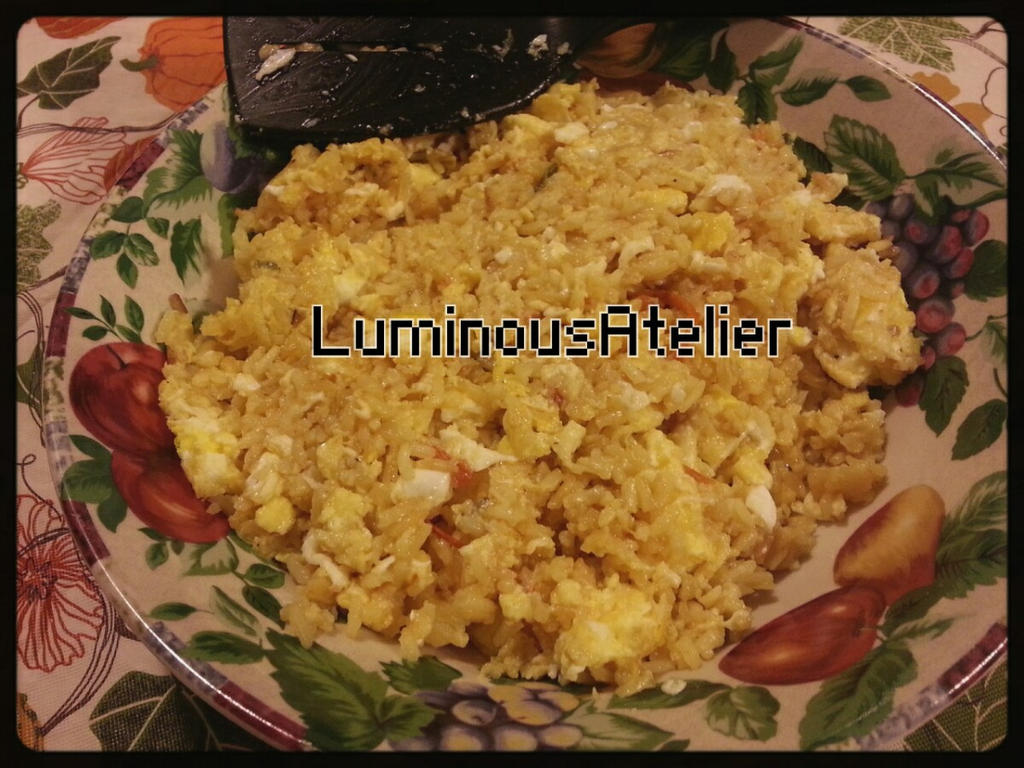 Photo - Rice and Eggs by LuminousAtelier