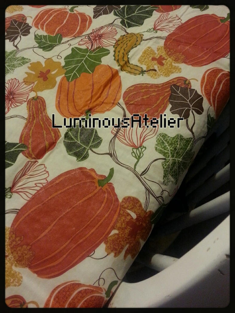 Photo - Autumn Tablecloth by LuminousAtelier