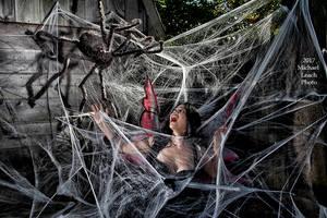 MLP Natalie U Faerie Web Spider Oct21 7186 by MichaelLeachPhoto