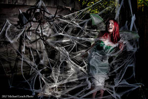 MLP Kalaisha Faerie Trapped in Web Oct17 8198 by MichaelLeachPhoto
