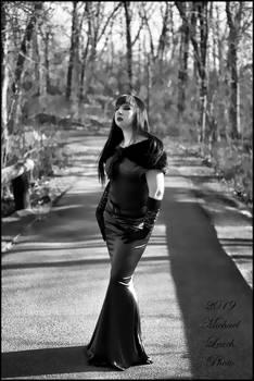 MLP Evelle Gown Black White Jan19 2837 by MichaelLeachPhoto