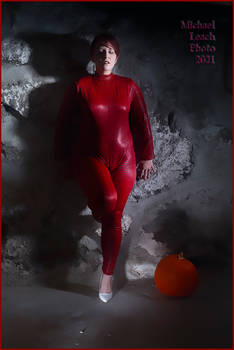 MLP Kimberly Red Catsuit Oct19 7943