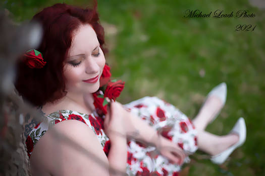 MLP Elana Fashion Rose Dress Apr21 9004