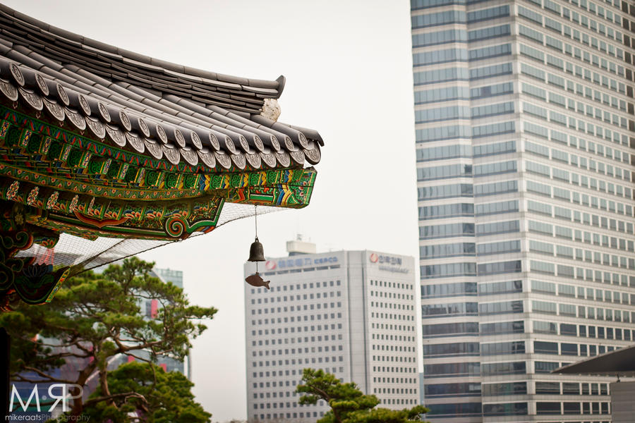 Seoul - Old vs. New by MikeRaats