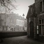 Brugge in fog 1