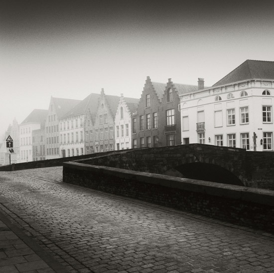 Brugge in fog 3 by giedriusvarnas