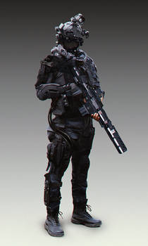 Scifi character 1