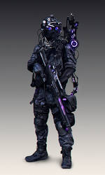 Scifi character 2