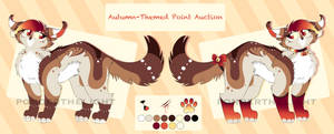 [CLOSED] Autumn Point Auction by PonderAdopts