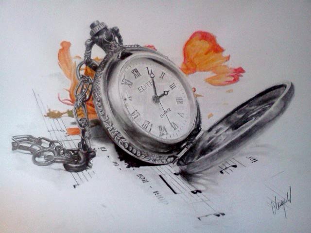 Clock Tattoo Designs Forearm