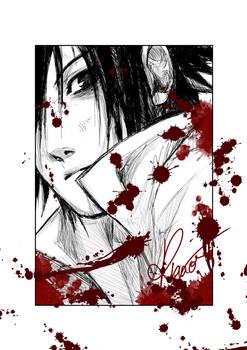 Bloody Sasuke :'D