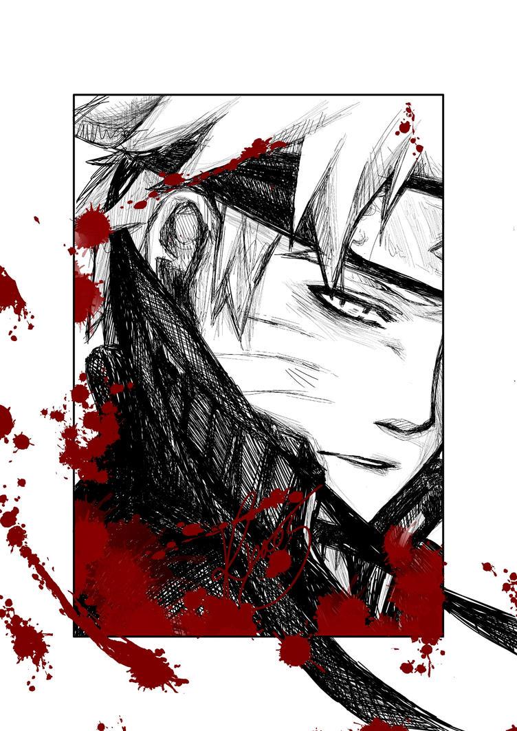 Bloody Naruto :D by V0IDsKhaos