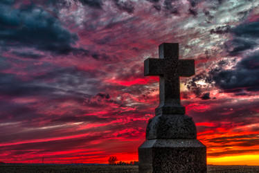 Easter Sunset HDR - III by Dimentichisi