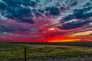 Easter Sunset HDR - II by Dimentichisi