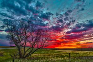 Easter Sunset HDR - I
