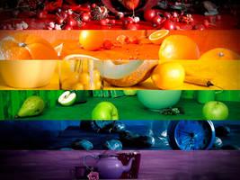 Taste The Rainbow by Dimentichisi