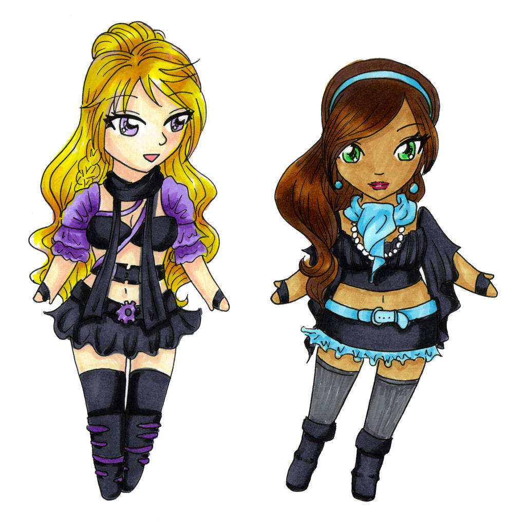 Commission: Aryiane Chibis by sailorsilverfalcon
