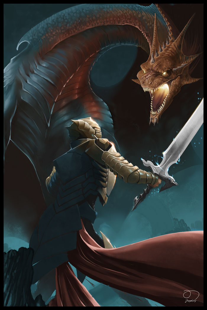 knight and dragons