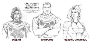 The Cursed Town of Drummond - Characters