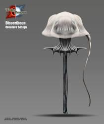 Creature Concept - Dissertheus by Onimetal