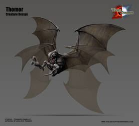 Creature Concept - Thomor by Onimetal