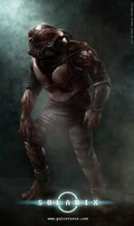 Zombie Astronaut by Onimetal