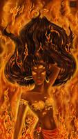Les flammes de ses prunelles by Djoulena