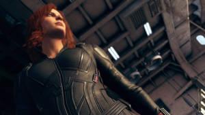 Black Widow Endgame suit details