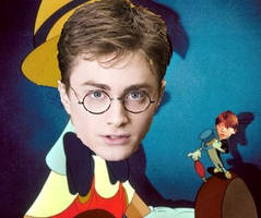 Pinocchio Harry Potter and Ronald Weasly by romanceluver22