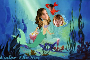 Hermione the Little Mermaid and Her Little Friends by romanceluver22