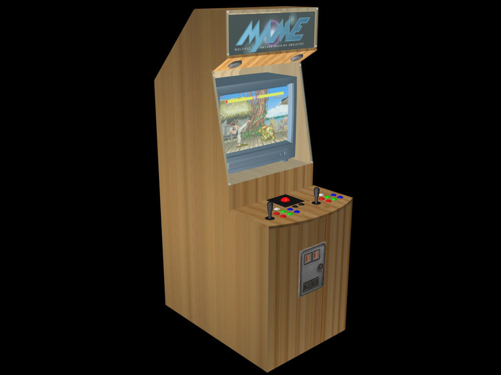 mame arcade cabinets