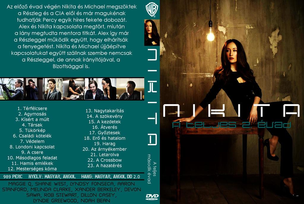 Nikita season 1 dvd cover