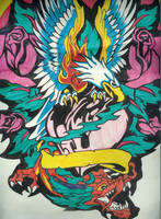 Eagle Tattoo by Perry666