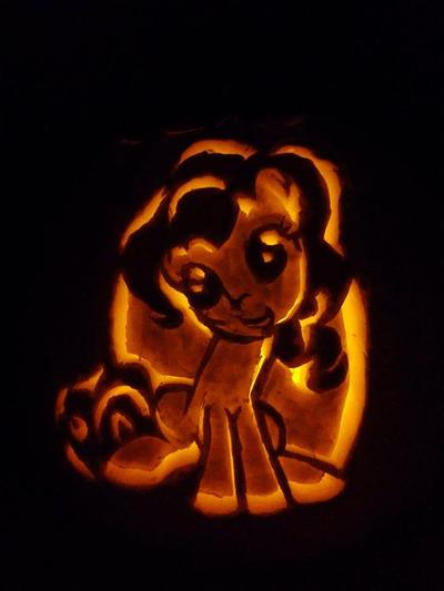 Pinkie Pie Pumpkin Stencil Pumpkin Pinkie ...