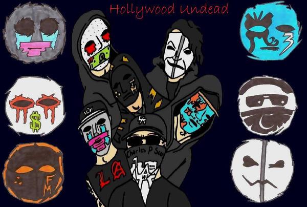 Hollywood Undead Wallpaper By Darkparade