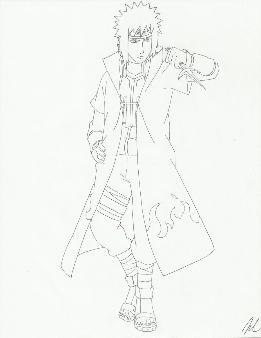 Yondaime Hokage Minato by AMidnightBloom Yondaime Hokage Minato by AMidnightBloom