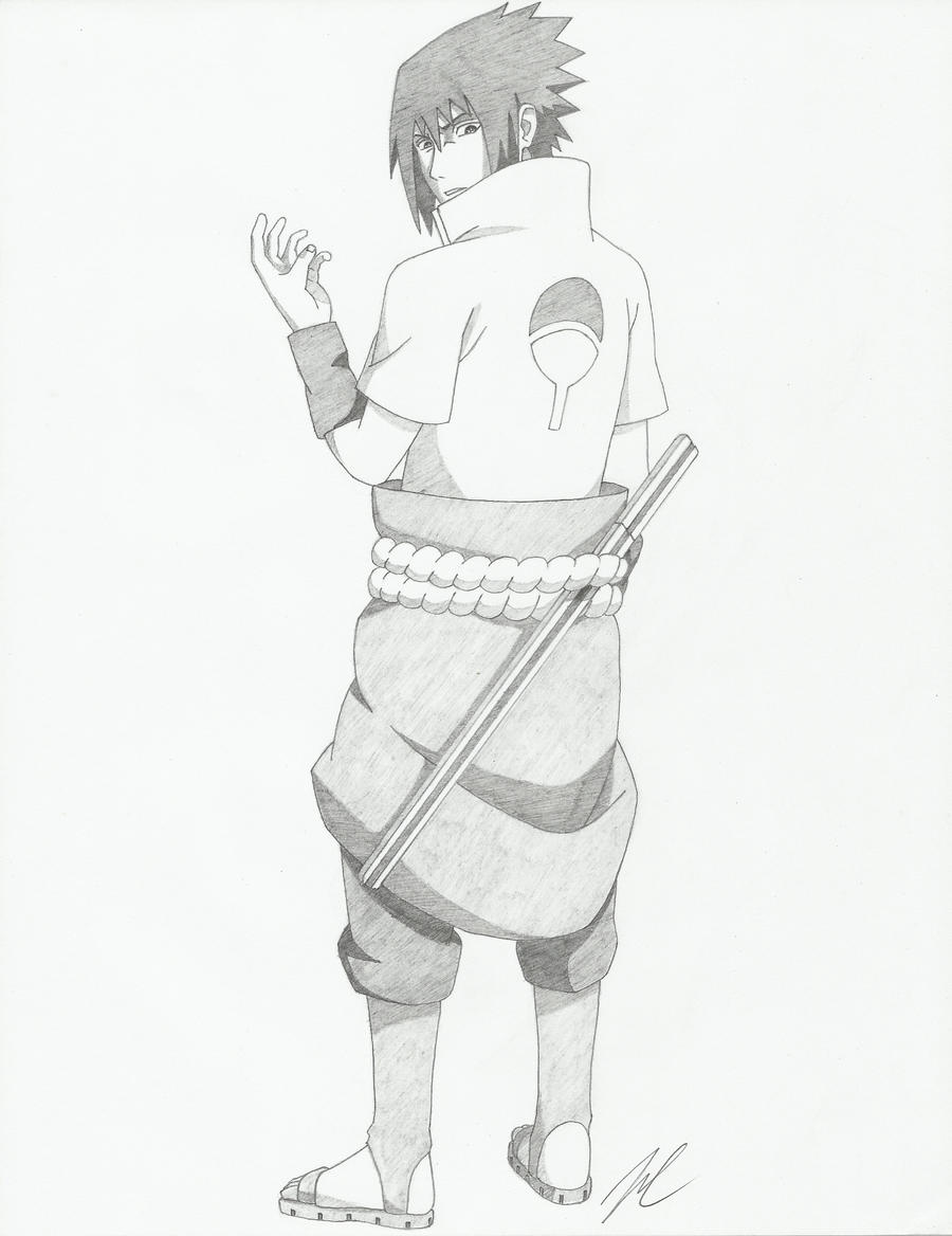 Sasuke Uchiha by AMidnightBloom on DeviantArt