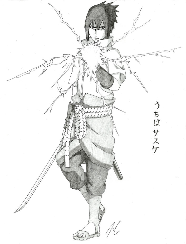 Uchiha Sasuke by AMidnightBloom