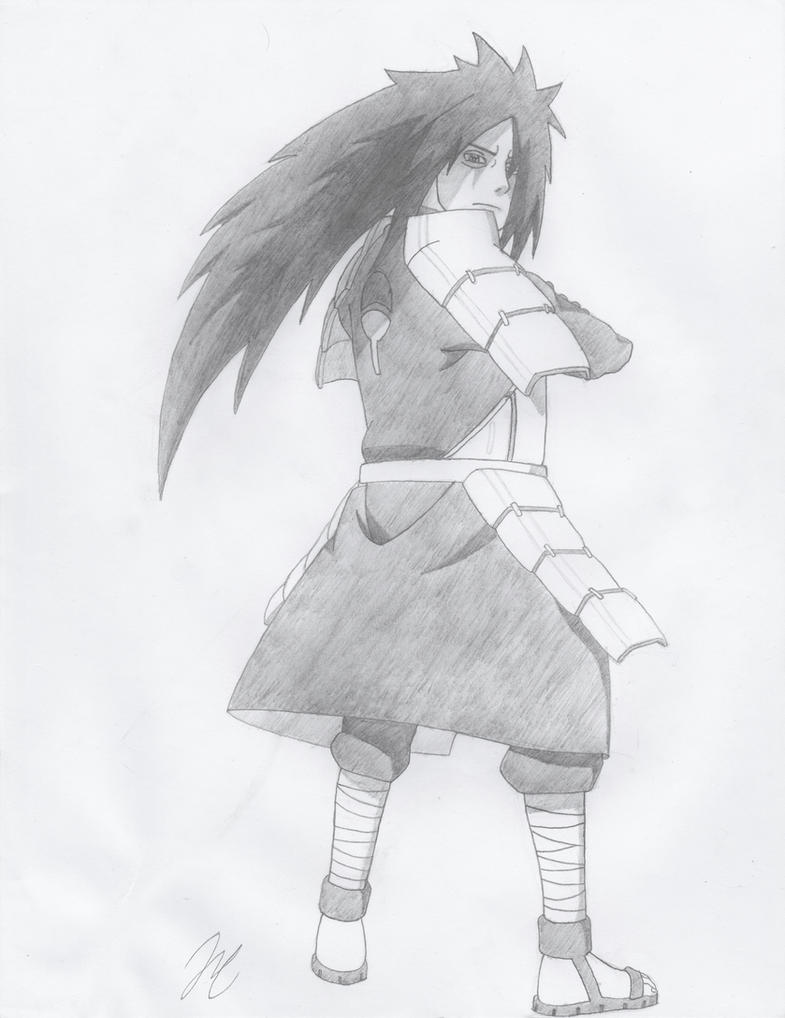 Madara Uchiha by AMidnightBloom
