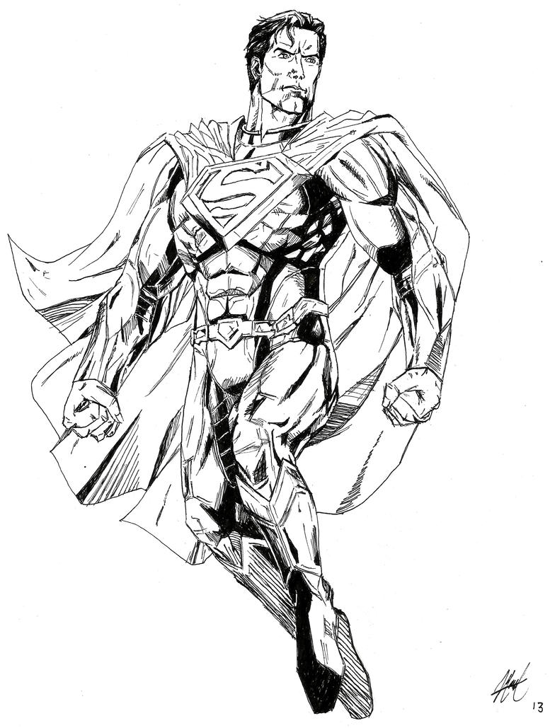 batman vs superman injustice coloring pages | Superman (INJUSTICE: Gods Among Us) by AMidnightBloom on ...