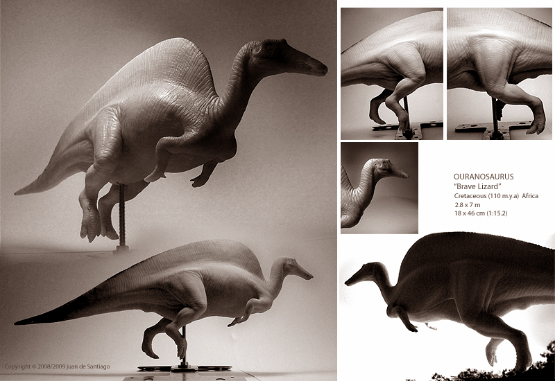Ouranosaurus Sculpture by Red-Dilopho