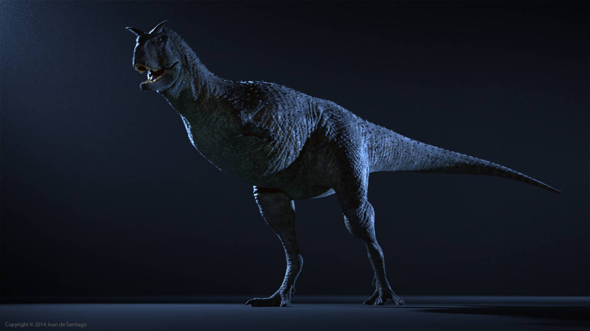 Carnotaurus Animation Test
