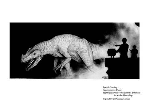 Ceratosaurus Attack