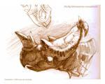Pachyrhinosaurus sketch