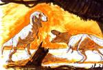 Tyrannosaurus markers