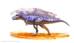 Tyrannosaur marker pic