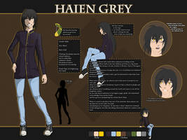 01 Character Sheet - Haien Grey [OLD ONE] by Tokusa-desu