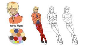 Jamie Sierra - Character Sheet #04