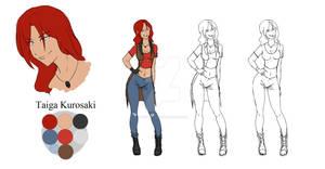 Taiga Kurosaki - Character Sheet #06